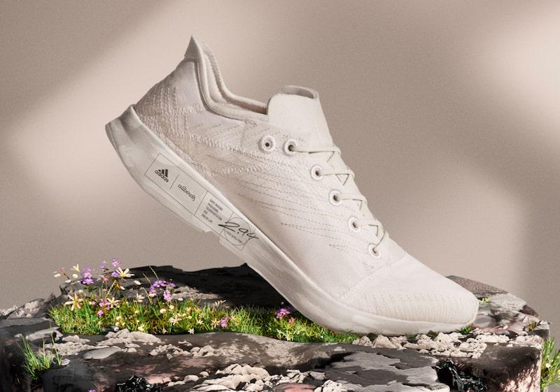Innovative sustainable fashion startups - allbirds & adidas